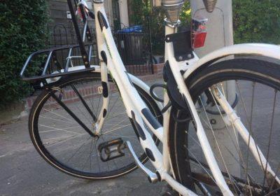 Zij kon niet meer naar haar werk fietsen. Door: René Arntz